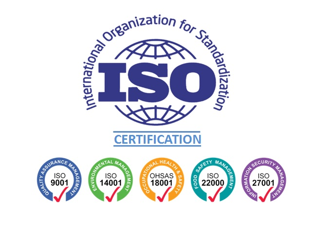 ISO Certification Registration in Bangalore India